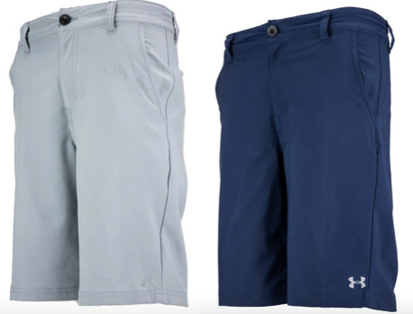 Under Armour Boy's Standard Stretch Golf Shorts