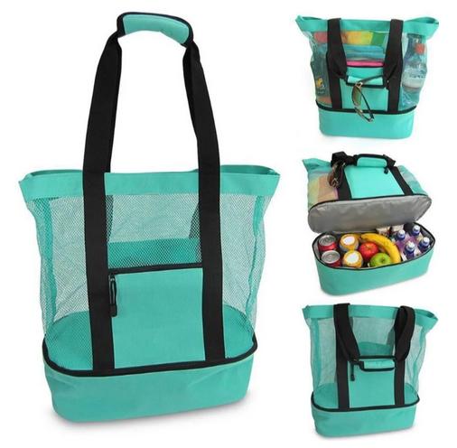 Insulated Cooler Beach Bag