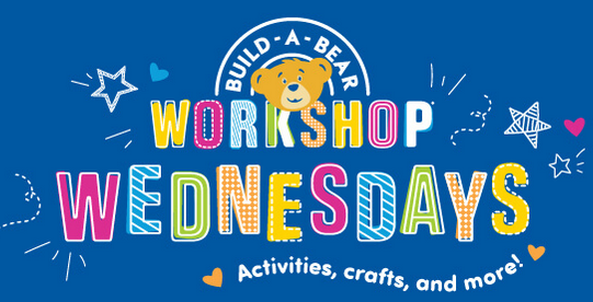 FREE Build A Bear Virtual Workshop Every Wednesday