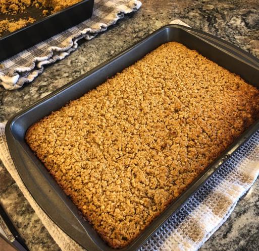 Baked Oatmeal as an easy family dinner idea