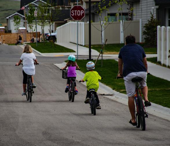 Biking as a Family