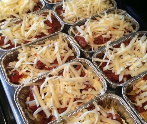 Mini Lasagnas easy family dinner idea