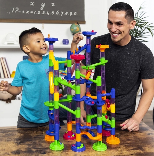 STEM Marble Run Coaster Track Toy Set