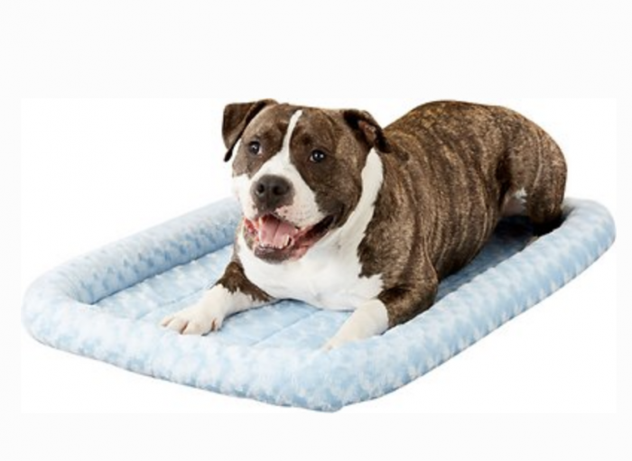 Blue Crate Dog Bed