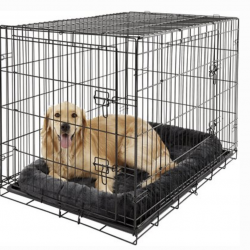 Gray Crate Bed