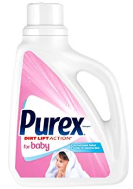 Purex Liquid Laundry Detergent for Baby, 75 Fluid Ounces