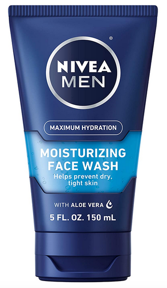 NIVEA Men Maximum Hydration Moisturizing Face Wash