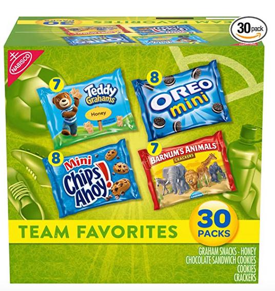 Nabisco Cookie & Crackers Variety Snacks