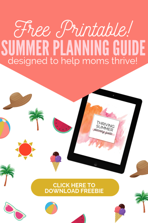 Thriving Summer Planning Guide
