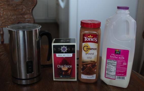 Decaf Chai Latte Ingredients