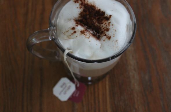 Decaf Chai Tea Latte in Mug