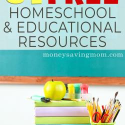 Free Homeschool Freebies