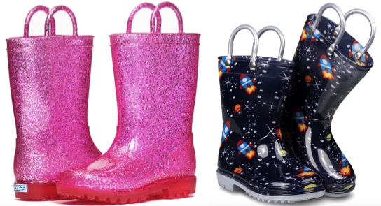 Zoogs Kid's Rainfall Boots Lone $9.99   Shipping!