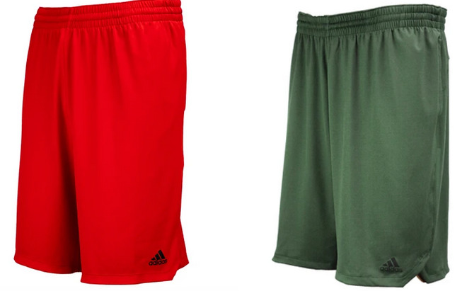 adidas Men's Axis 3-Stripe Knit Shorts