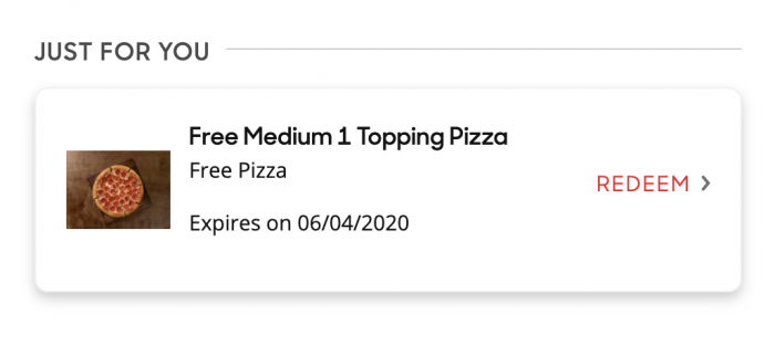 pizza hut coupon code for free medium pizza
