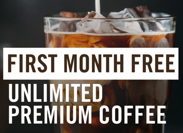 First month free of Panera coffee subscription