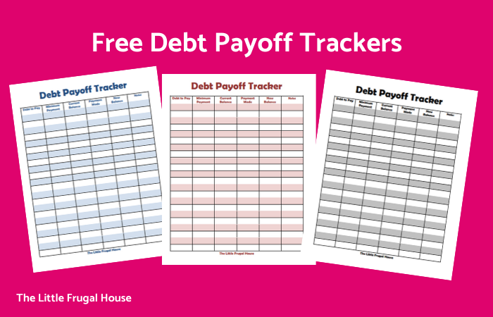 Free Debt Payoff Trackers