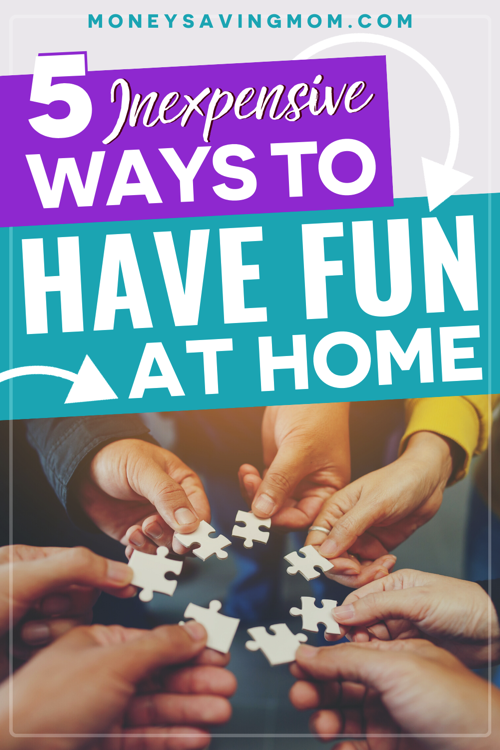 fun things to do at home with kids
