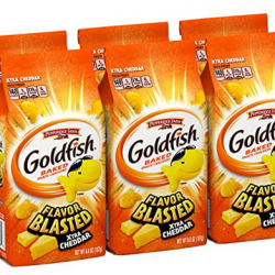 Pepperidge Farm Goldfish Flavor Blasted Xtra Cheddar Crackers