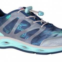 XTRATUF Women's Blue Mesh Spindrift Drainage Sneakers