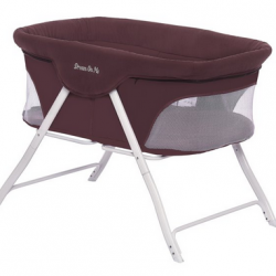 Dream On Me Traveler Portable Bassinet In Berry