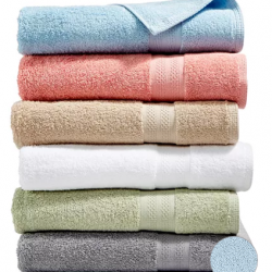 Sunham Soft Spun Cotton Bath Towels