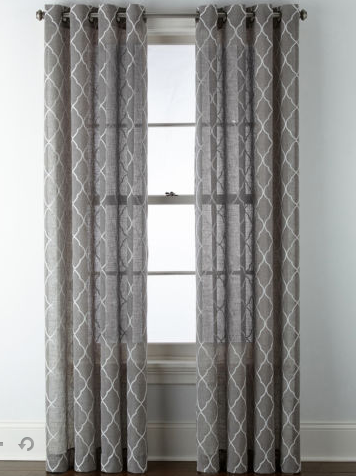 Curtain Panels in Any Size only $8.25 at JCPenney!