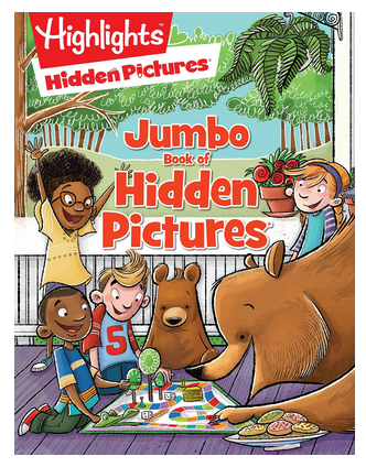 Jumbo Book of Hidden Pictures