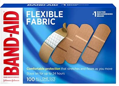 Johnson & Johnson Band-Aid Brand Flexible Fabric Adhesive Bandages