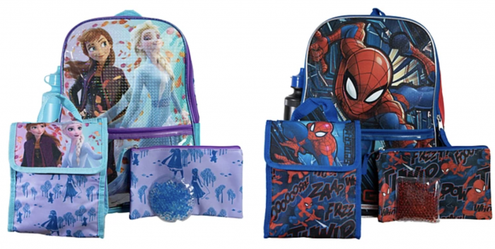 kids character backpacks