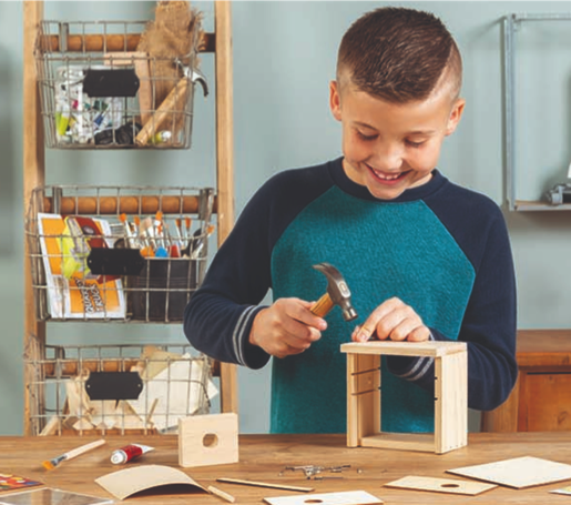Young Woodworkers Kit Club Craft