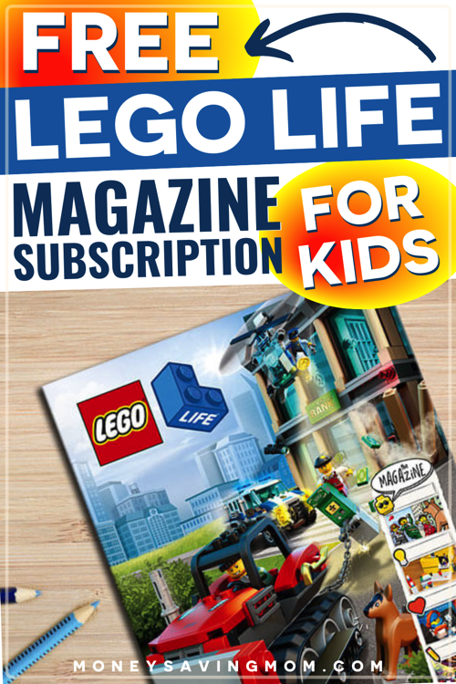 Free LEGO Life Magazine Subscription for Kids!