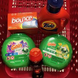 P&G Products in Target Basket