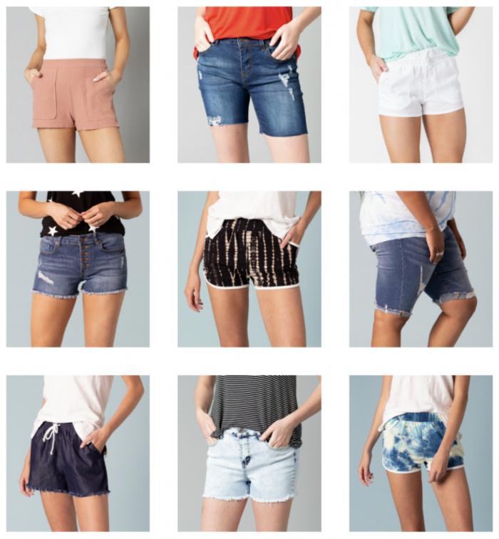 women's shorts styles