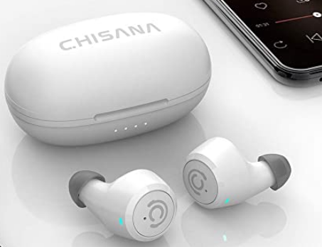 Chisana Wireless Waterproof Bluetooth Earbuds