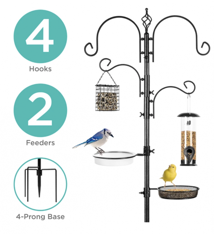 Multi-Feeder Bird Feeding Station