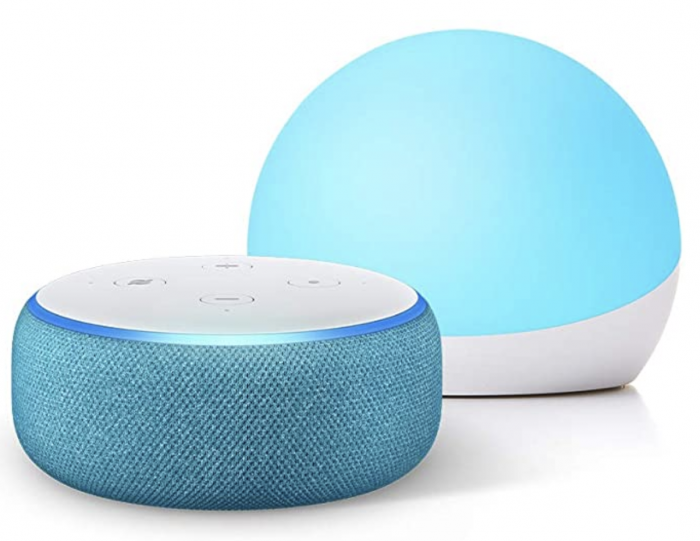Echo Dot plus Glow