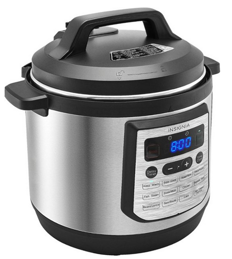 Insignia 8 Quart Integer Multi Cooker Lone $39.99 Shipped (reg. $120!)