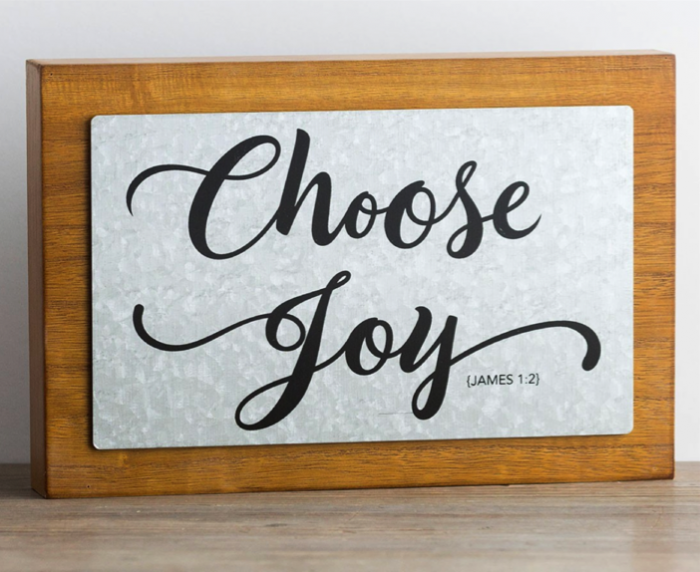 Choose Joy Wall Art