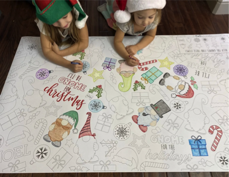 Christmas Giant Coloring Pages