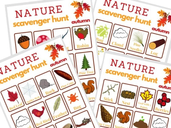 Free Printable Fall Scavenger Hunt