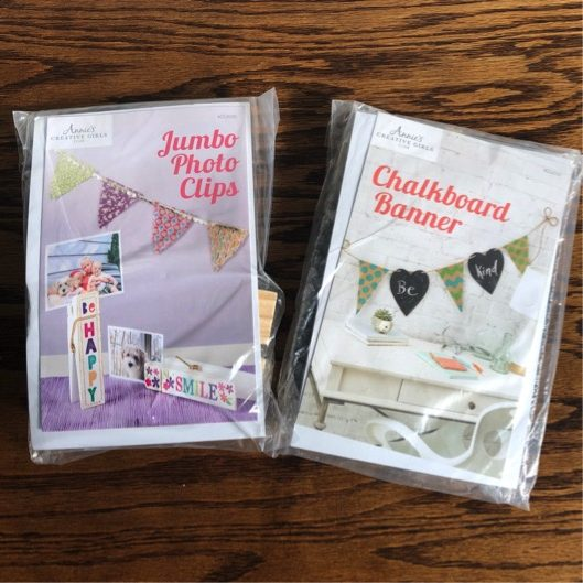 Annie's Jumbo Photo Clips and Chalkboard Banner