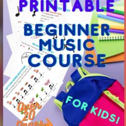 Printable Beginning Music Course
