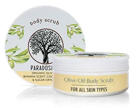 Olive Oil Body Scrub