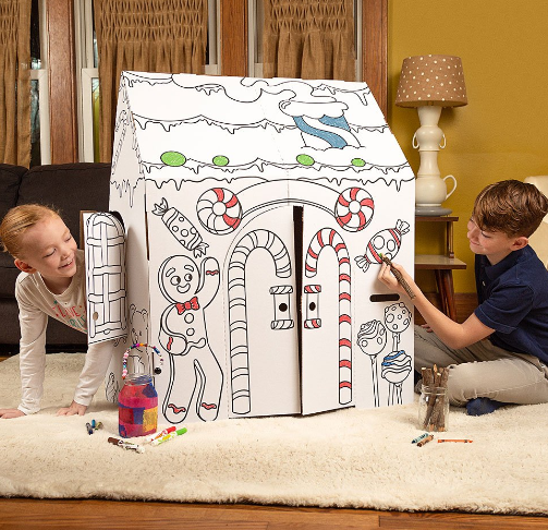 Color Your Own Playhouses