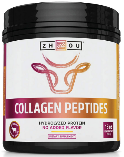 Collagen Peptides Hydrolyzed Protein Powder 18oz