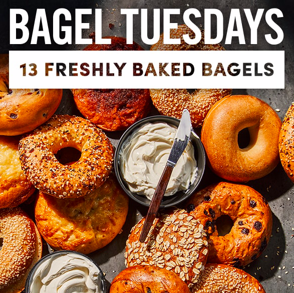 Panera Bagel Tuesday Deal