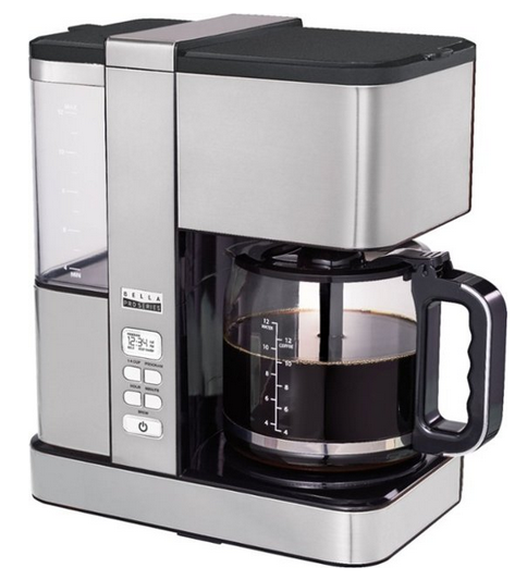 Bella - Pro Series Flavor Infusion 12-Cup Coffee Maker - Stainless Steel