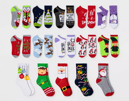 15 Days of Socks Advent Calendar