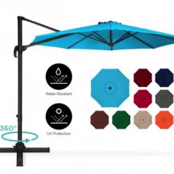 Tilted Umbrella